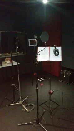 Paul vox mic setup