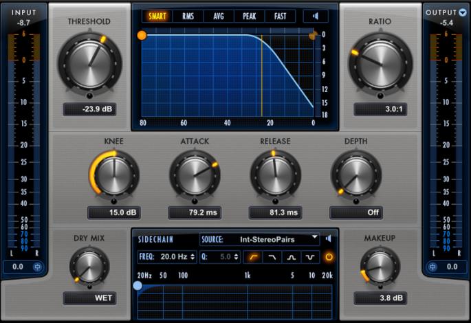 drum bus compression
